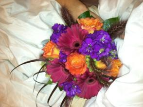 Gerbera/ Rose Bouquet
